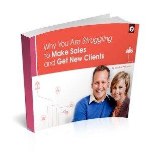 struggling to make sales book
