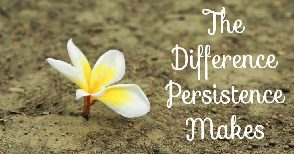 The Difference Persistence Makes